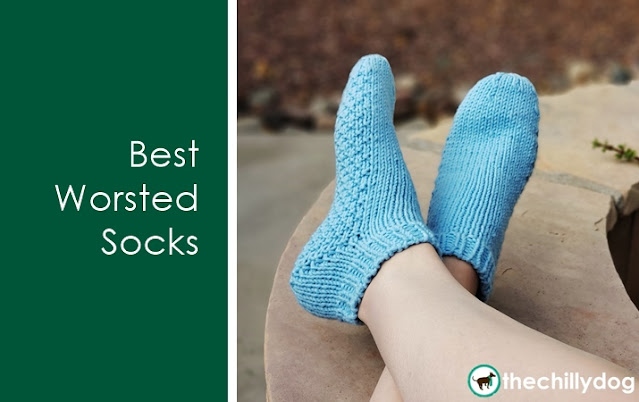Best Worsted Socks: Learn new skills while you knit. Top Down and Toe Up Instructions