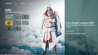 AC Origins, Ezio's Master Outfit