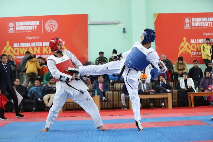 CU shines in All India Inter-University Qwan-Ki-Do Championship