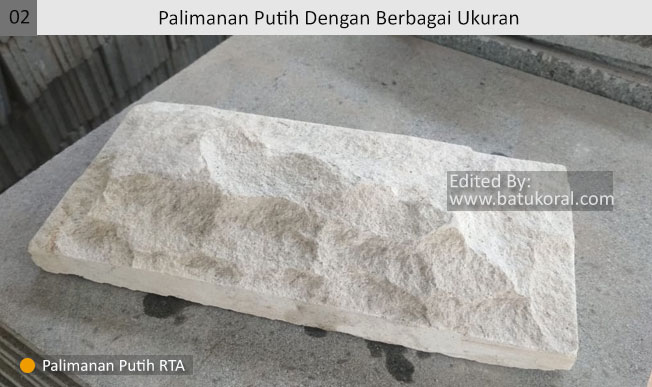 jual batu alam putih