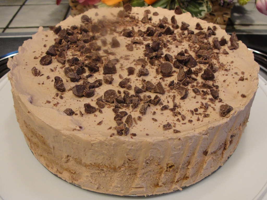 Mocha Coffee Ice Box Cake