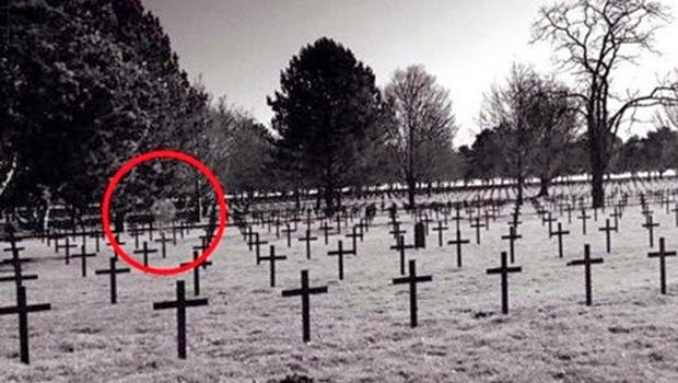 Penampakan Hantu dari PD ke 1 Muncul di Pemakaman Perancis