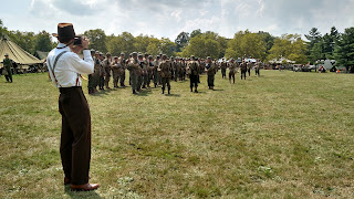 D-Day Reenactment at Conneaut Ohio, US Pressman