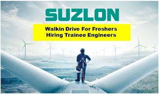 ITI & Diploma Job Vacancy In Suzlon Energy Ltd  Rotor Blade Manufacturing Unit Jaisalmer, Rajasthan