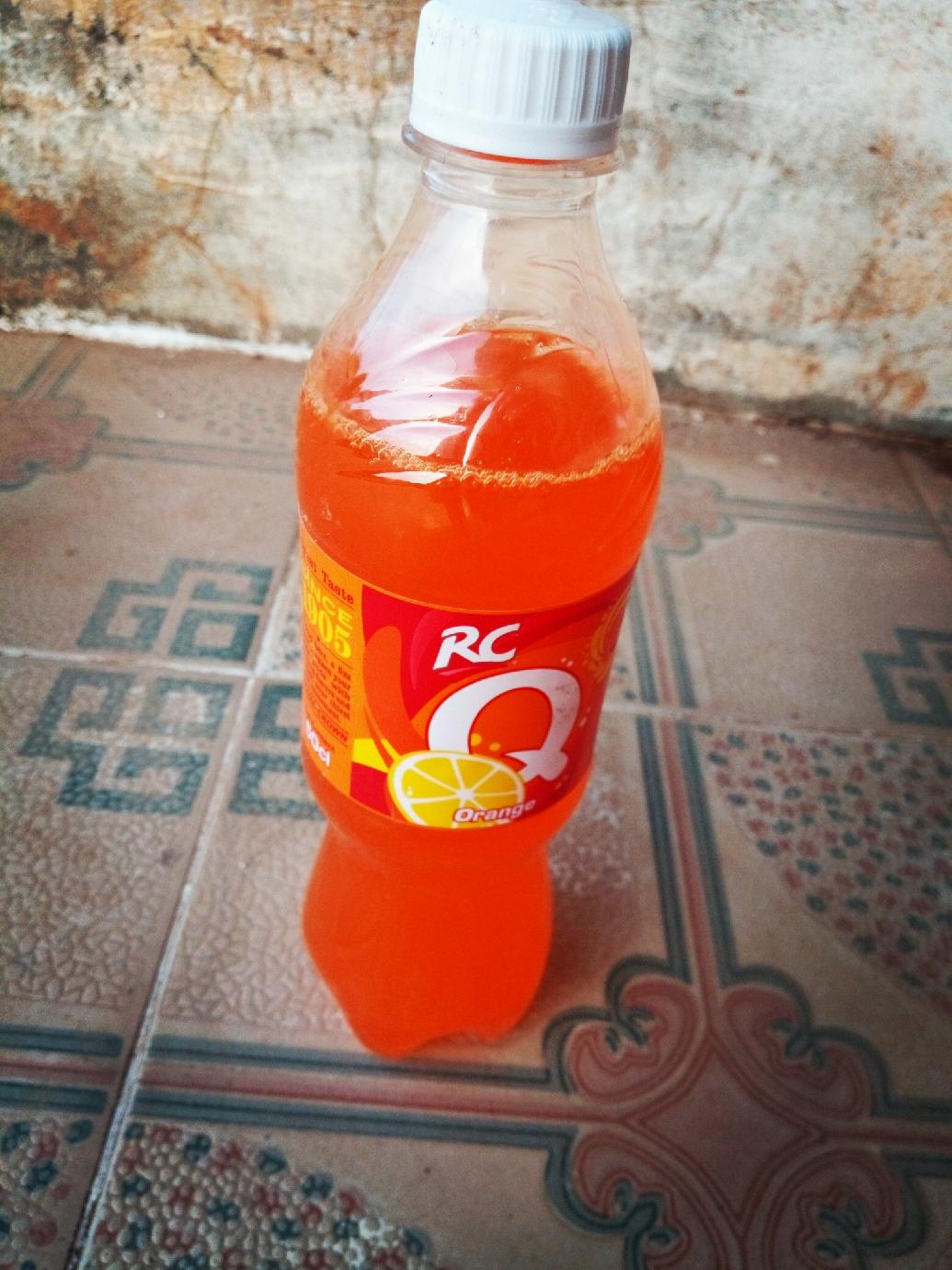 3. RC Orange flavor