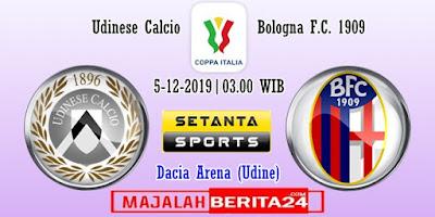 Prediksi Udinese vs Bologna — 5 Desember 2019