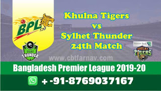 Sylhet vs Khulna 24th Match BPL T20 Today Match Prediction Tips