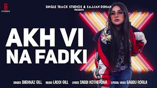 Veham song Lyrics – Shehnaz Gill  laddi gill  Punjabi Songs 2019 Ditto Music St Studio