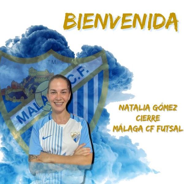 Oficial: El Málaga CF Futsal Femenino firma a Natalia Gómez