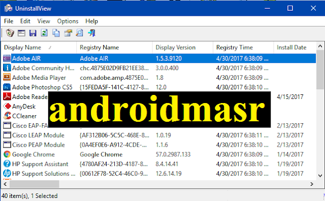 تحميل برنامج حذف الملفات المحذوفة نهائيا ، كيف امسح البرامج من الكمبيوتر ، الغاء تثبيت البرامج في ويندوز 7