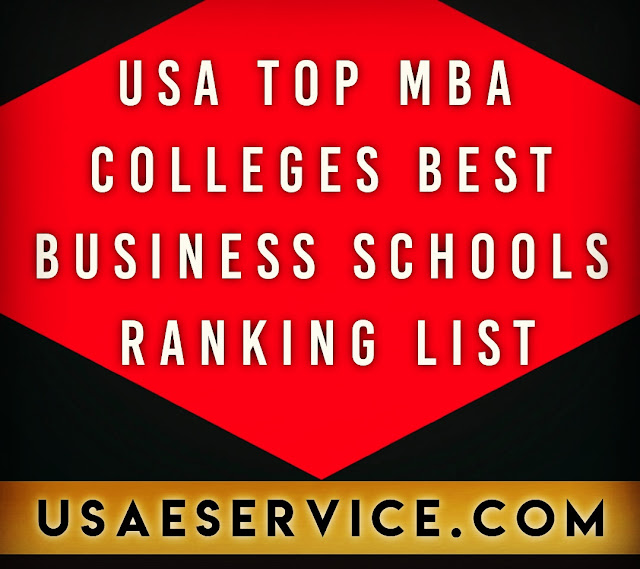 Top MBA Colleges Best Business Schools Ranking In USA