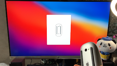 mac mini2020設定写真