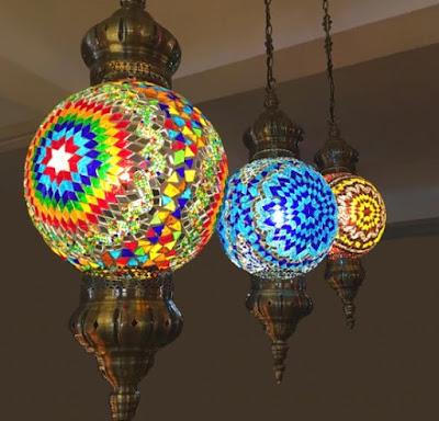 Lampu Hias Mosaik Turki