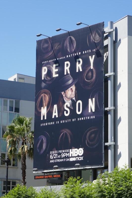 Perry Mason HBO remake billboard