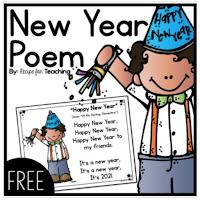 FREE New Year's Kindergarten and Preschool activities, ideas and decorations for the first day back after winter break. #freebie
