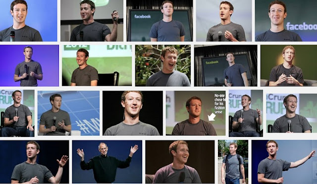 Mark Zuckerberg Grey T-shirts