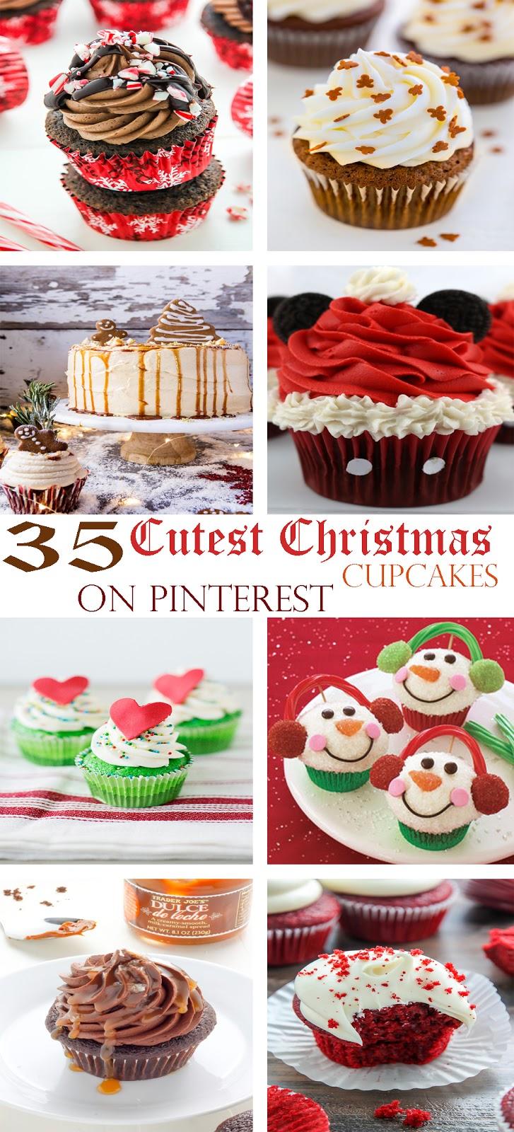 35 Cutest Christmas Cupcakes On Pinterest