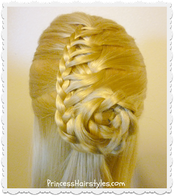 Cornucopia braid hair tutorial
