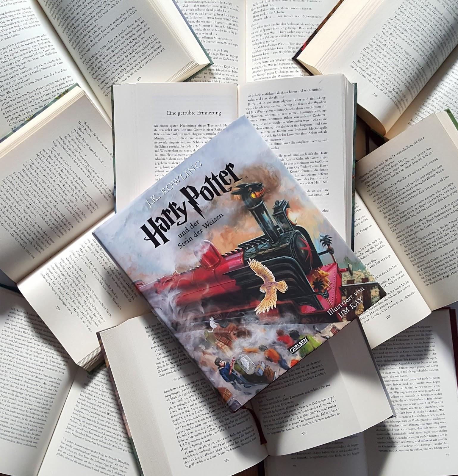 Das Bucherchamaleon Rezension Harry Potter Und Der Stein Der