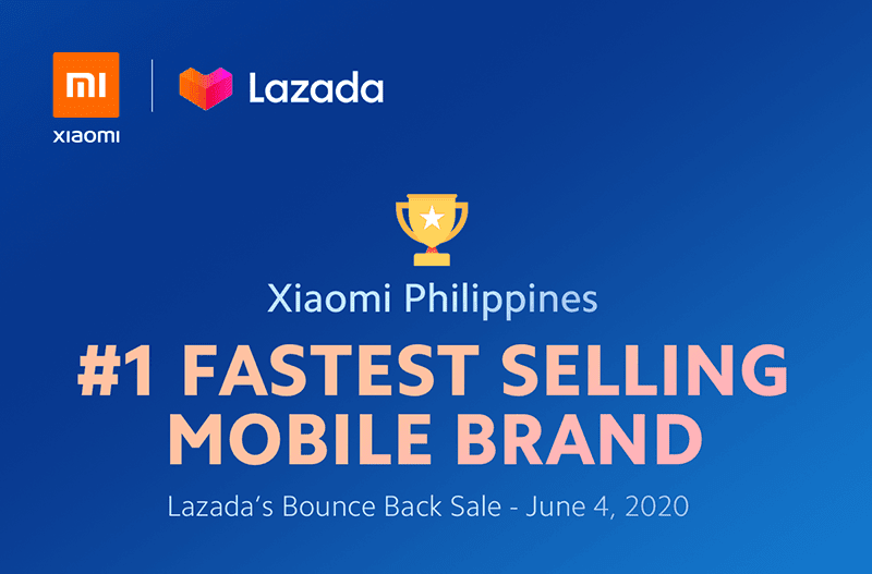 Xiaomi PH is the fastest selling mobile brand at Lazada's 6.6 Bounce Back Sale