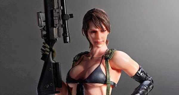 Busty Figure Metal Gear Solid 5