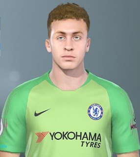 PES 2019 Faces Jamie Cumming by DNB