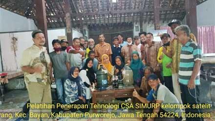 Kelompok Tani Satelit Purworejo Adakan Pelatihan SIMURP
