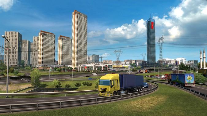 Euro Truck Simulator 2 passa a contar com 3 novos países