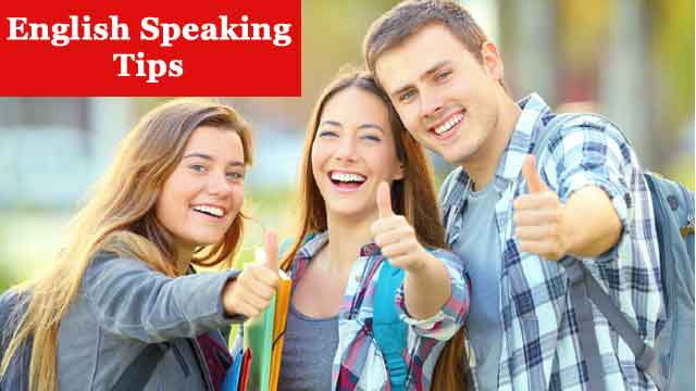 how to speak correct and good english