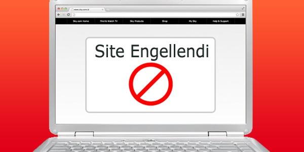 Bilgisayarda Site Engelleme