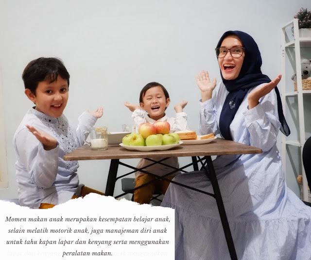 momen makan sehat dengan gizi seimbang