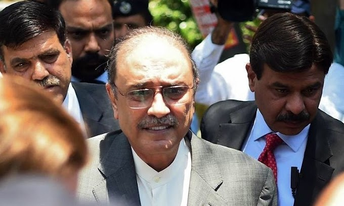 Thatta Water Supply Reference: Decision to charge Asif Zardari through video link.