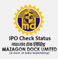 Mazagaon Dock IPO Allotment check online