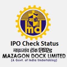 How to Check Mazagon Dock IPO Allotment Status Online