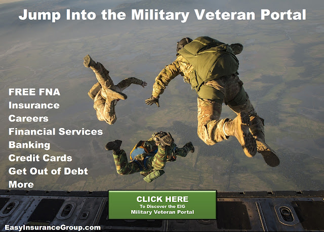 Military and Veteran: Insurance and Financial Services - EasyInsuranceGroup.com