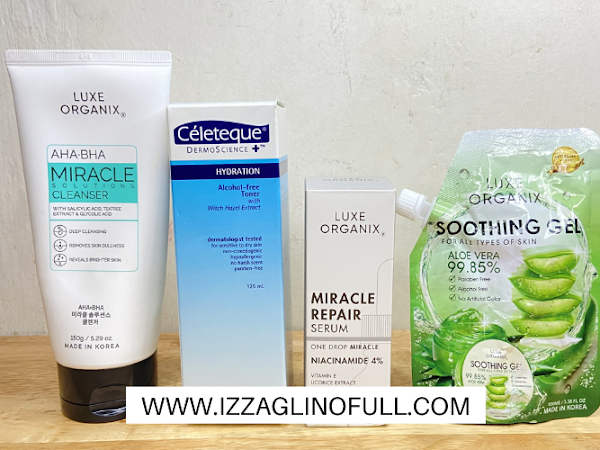 Current Skincare Routine 2021