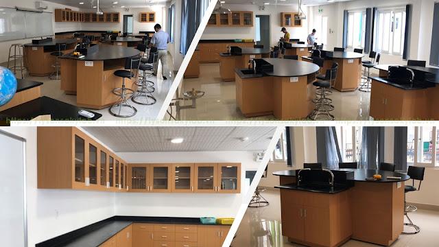 Phòng thí nghiệm trường quốc tế Sài Gòn Star