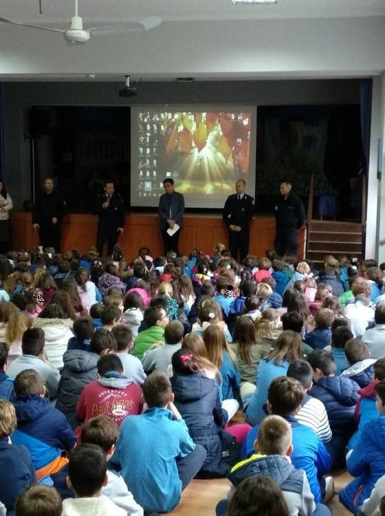Με επιτυχία ολοκληρώθηκε ενημερωτική ομιλία σε μαθητές δημοτικού των Εκπαιδευτηρίων Ράπτου στη Λάρισα (ΦΩΤΟ)