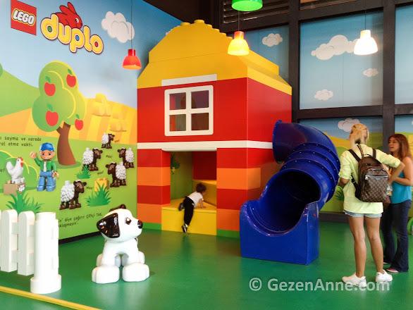 minikler için Duplo oyun alanı, Legoland Discovery Centre İstanbul