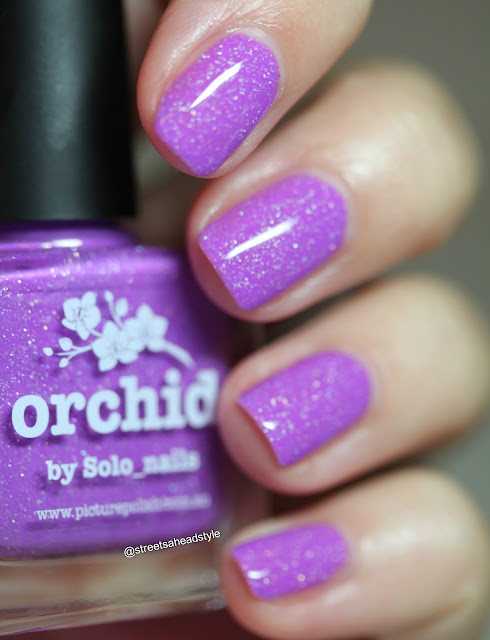 piCture pOlish Orchid nail polish