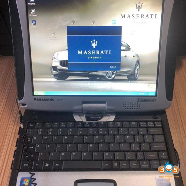 Maserati MDVCI kit complet 3