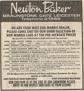 Newton Baker Ltd advert
