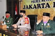 Polres Metro Jakarta Barat Rangkul Da'i Kamtibmas Untuk Sosialisasikan Larangan Mudik