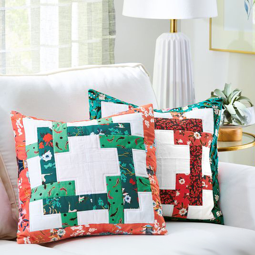 Intertwined Pillow Cover - Free Pattern