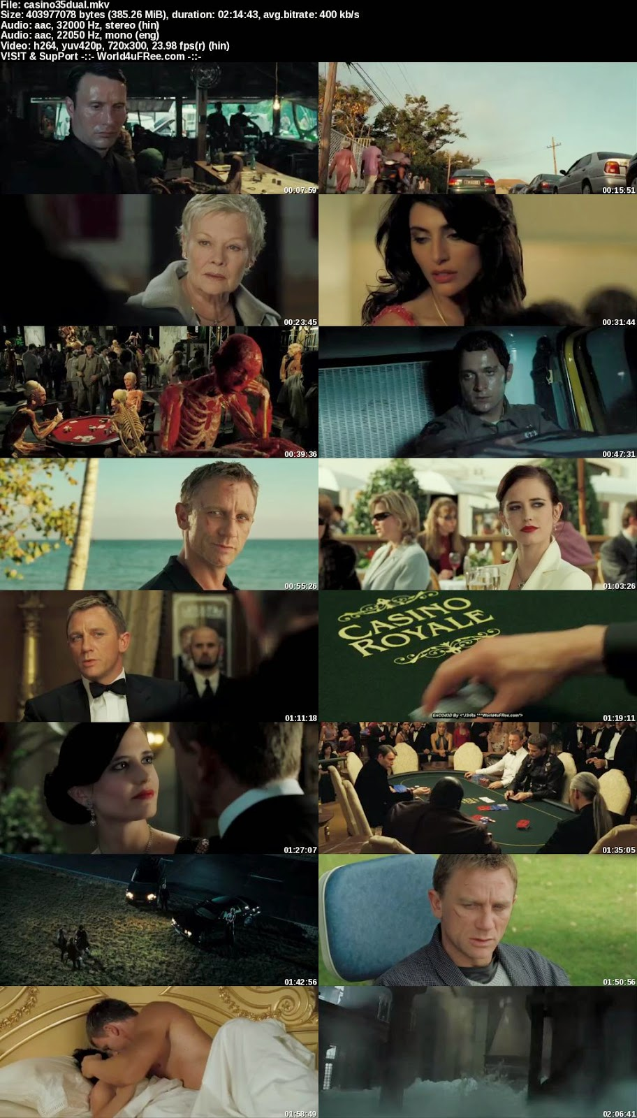 download casino royale in dual audio