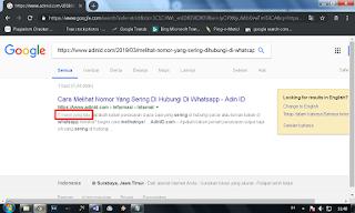 Cara Agar Artikel Cepat Terindex Google Dalam 5 Menit