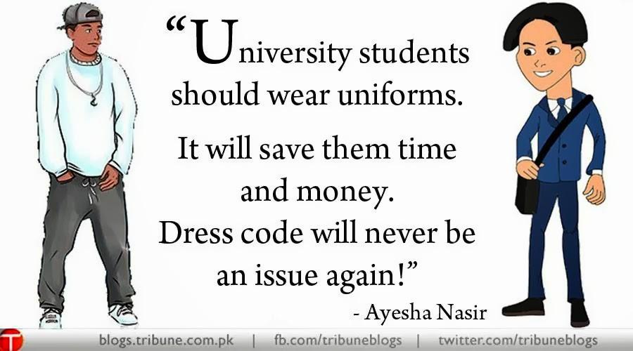 Student should not wear uniform essay