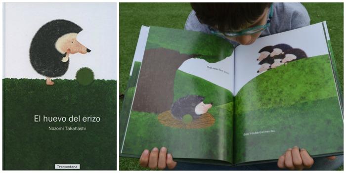 cuentos para enseñar valores niños: el huevo del erizo, esfuerzo