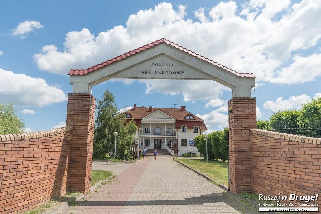 Siedziba Poleskiego Parku Narodowego w Urszulinie