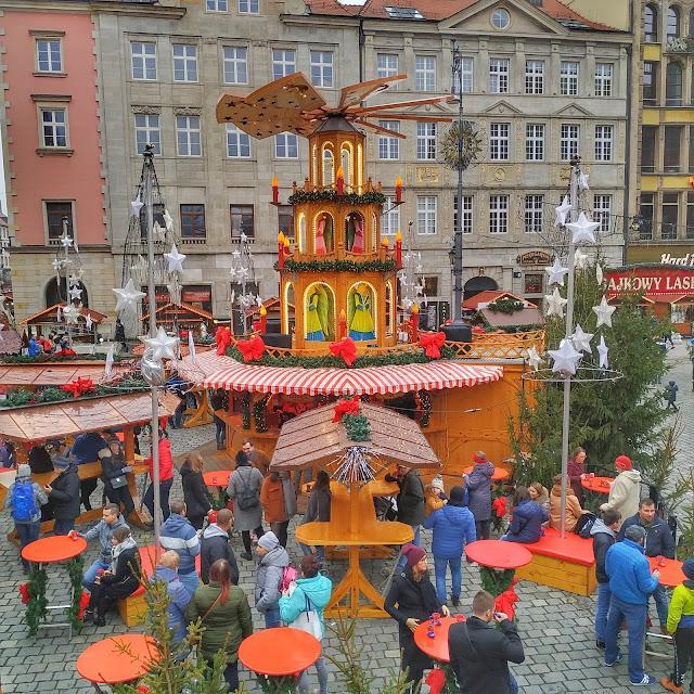 Jarmark Bożonarodzeniowy we Wrocławiu zdjecia